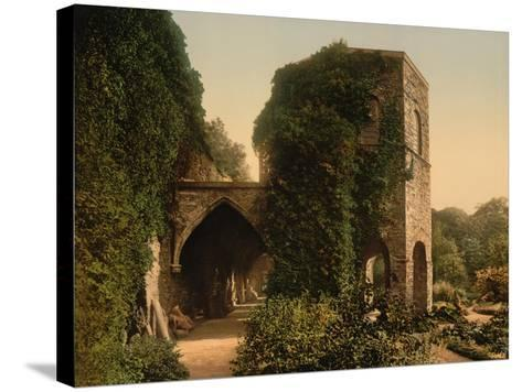 St. Bavon Abbey, the Old Tower, Ghent, Belgium, C.1890-1900--Stretched Canvas Print