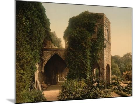 St. Bavon Abbey, the Old Tower, Ghent, Belgium, C.1890-1900--Mounted Giclee Print