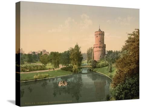 The Kronenbourg Park, Nymegen, Holland, C.1890-C.1900--Stretched Canvas Print