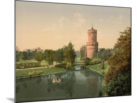 The Kronenbourg Park, Nymegen, Holland, C.1890-C.1900--Mounted Giclee Print