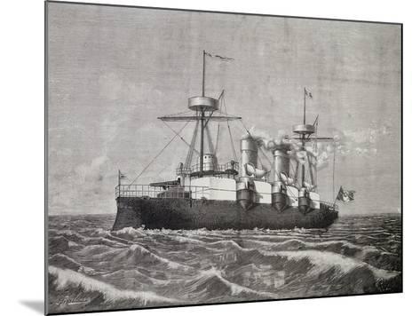 Torpedo Boat Vesuvius, 1886, Italy, 19th Century--Mounted Giclee Print