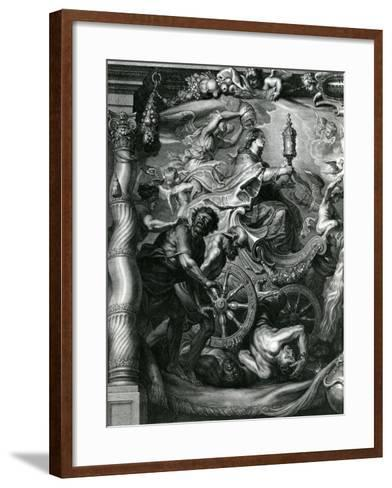 Part of a Tribute to Prince Leopold William, Archduke of Austria--Framed Art Print