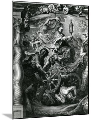 Part of a Tribute to Prince Leopold William, Archduke of Austria--Mounted Giclee Print
