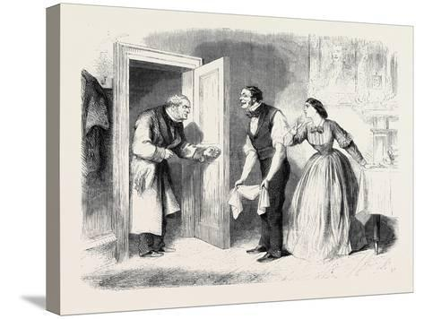 A Pearl Among Women Where Is Miss Sillery? Inquired Mr. Lawrence--Stretched Canvas Print