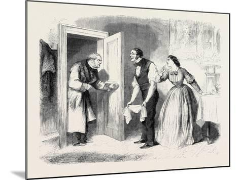 A Pearl Among Women Where Is Miss Sillery? Inquired Mr. Lawrence--Mounted Giclee Print
