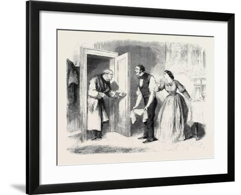 A Pearl Among Women Where Is Miss Sillery? Inquired Mr. Lawrence--Framed Art Print