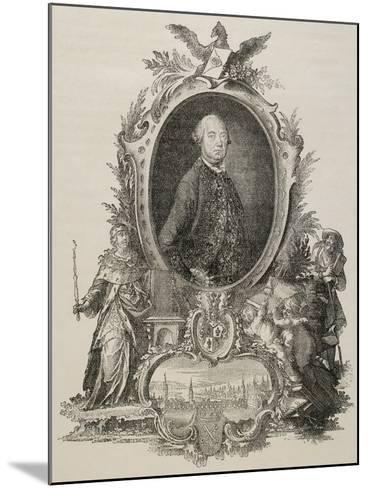 Heinrich Christopher Liber (1707-1788). German Politician.--Mounted Giclee Print