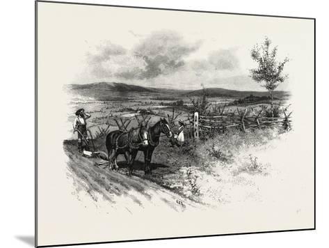 From Toronto, Westward, Canada, Nineteenth Century--Mounted Giclee Print