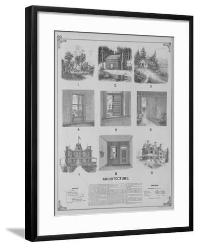 Architecture--Framed Art Print