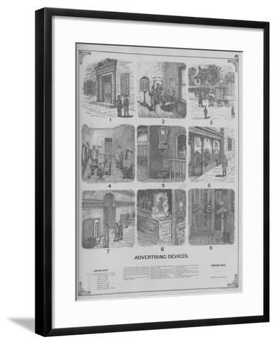 Advertising Devices--Framed Art Print