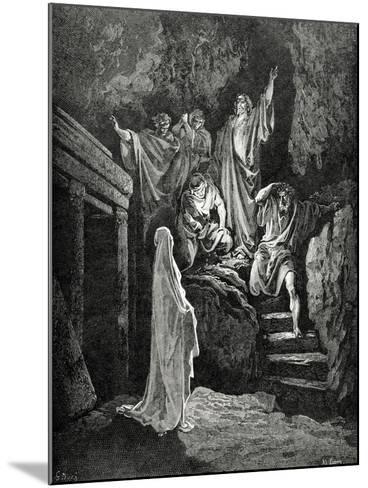 Resurrection of Lazarus--Mounted Giclee Print