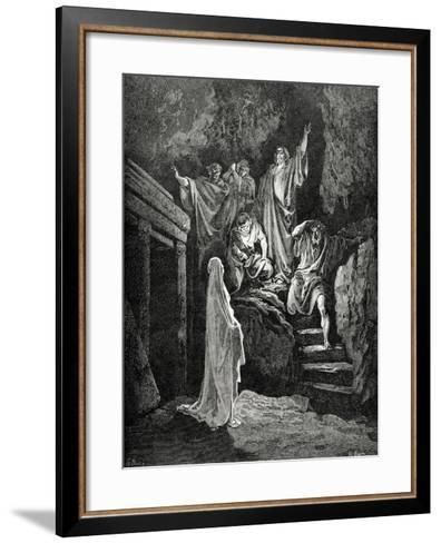 Resurrection of Lazarus--Framed Art Print