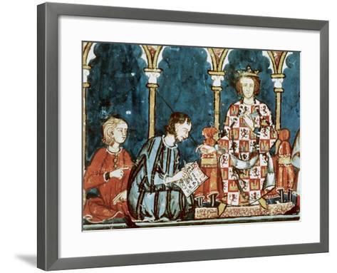 Book of Games, 1282--Framed Art Print