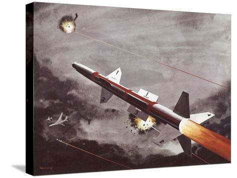 Talos Surface to Air Missile--Stretched Canvas Print