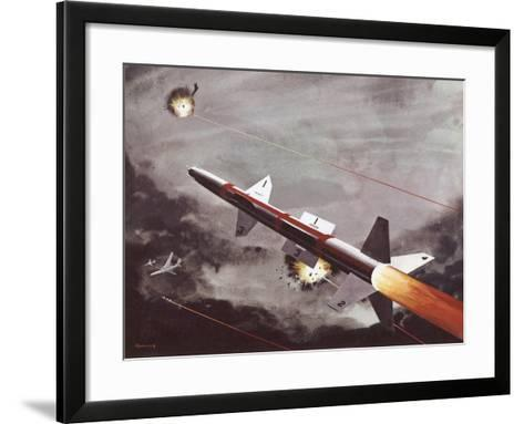 Talos Surface to Air Missile--Framed Art Print