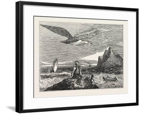 The Wandering Albatross--Framed Art Print