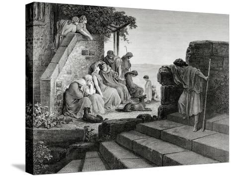 New Testament, Parable of the Prodigal Son--Stretched Canvas Print