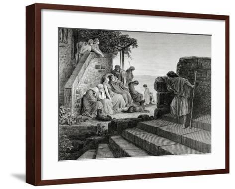 New Testament, Parable of the Prodigal Son--Framed Art Print