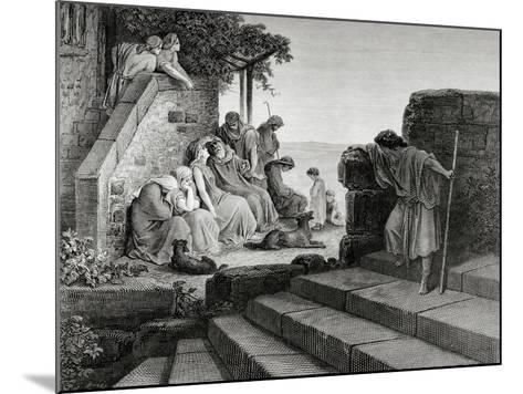 New Testament, Parable of the Prodigal Son--Mounted Giclee Print