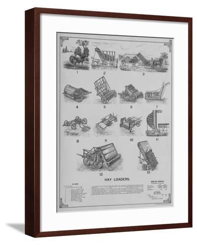 Agricultural Implements - Hay Loaders--Framed Art Print