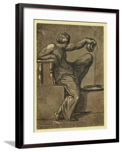 Temperance, Between 1540 and 1610--Framed Art Print