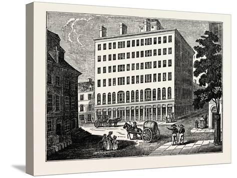 New York: Holt's Hotel, USA--Stretched Canvas Print