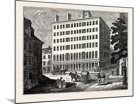 New York: Holt's Hotel, USA--Mounted Giclee Print
