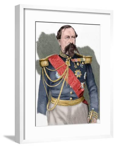 Edmond Le Boeuf (1809-1888)--Framed Art Print