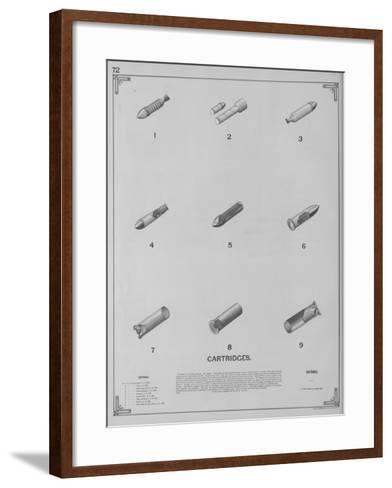 Cartridges--Framed Art Print
