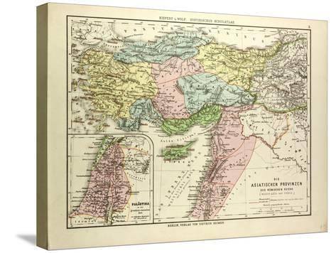 Map of the Asian Provinces of the Roman Empire (Small Asia and Syria)--Stretched Canvas Print