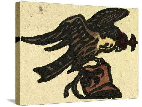 Illustration of English Tales Folk Tales and Ballads. a Hawk--Stretched Canvas Print