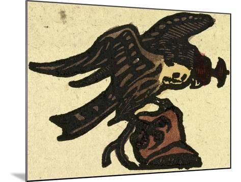Illustration of English Tales Folk Tales and Ballads. a Hawk--Mounted Giclee Print