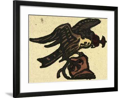 Illustration of English Tales Folk Tales and Ballads. a Hawk--Framed Art Print