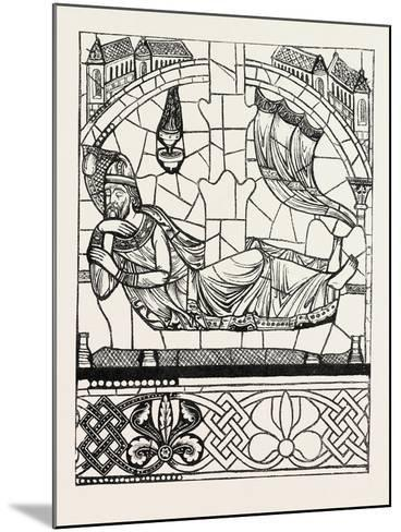 Figure of Jesse, Twelfth Century, Cathedral of Chartres, France--Mounted Giclee Print