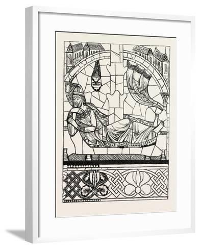 Figure of Jesse, Twelfth Century, Cathedral of Chartres, France--Framed Art Print