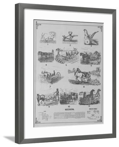 Seeders--Framed Art Print