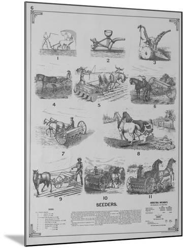 Seeders--Mounted Giclee Print