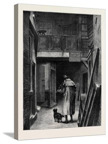 Blind, from the Picture by A.W. Bayes, in the Dudley Gallery--Stretched Canvas Print