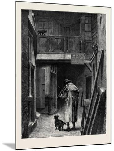 Blind, from the Picture by A.W. Bayes, in the Dudley Gallery--Mounted Giclee Print