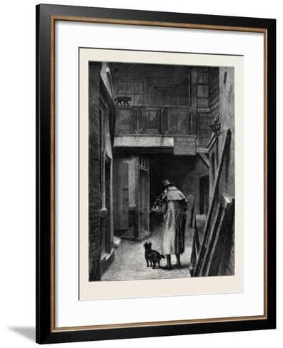 Blind, from the Picture by A.W. Bayes, in the Dudley Gallery--Framed Art Print