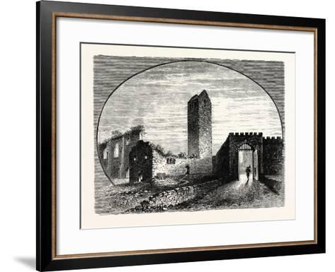 Edinburgh: the Kirk-Of-Field the Kirk of St. Mary-In-The-Fields--Framed Art Print