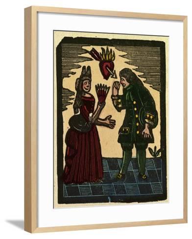 Illustration of English Tales Folk Tales and Ballads--Framed Art Print