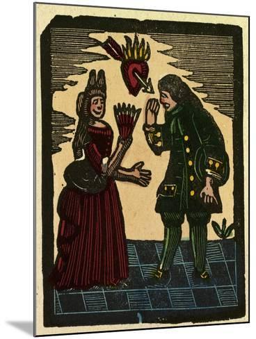 Illustration of English Tales Folk Tales and Ballads--Mounted Giclee Print