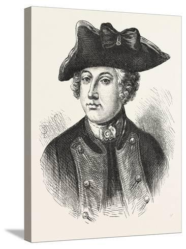 Sir Jeffery Amherst, Officer in the British Army, 1870S--Stretched Canvas Print