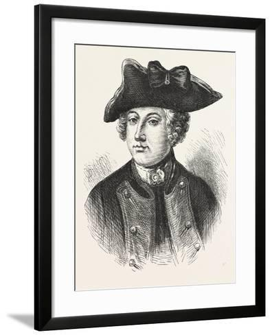 Sir Jeffery Amherst, Officer in the British Army, 1870S--Framed Art Print