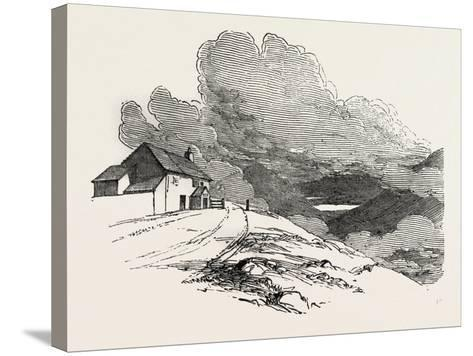The Highest Inhabited House in England, Lake District, UK--Stretched Canvas Print