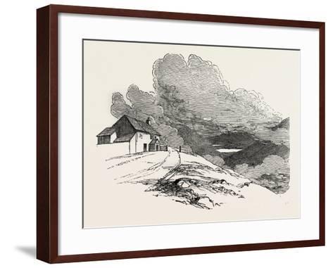 The Highest Inhabited House in England, Lake District, UK--Framed Art Print