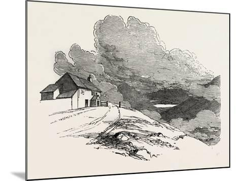 The Highest Inhabited House in England, Lake District, UK--Mounted Giclee Print
