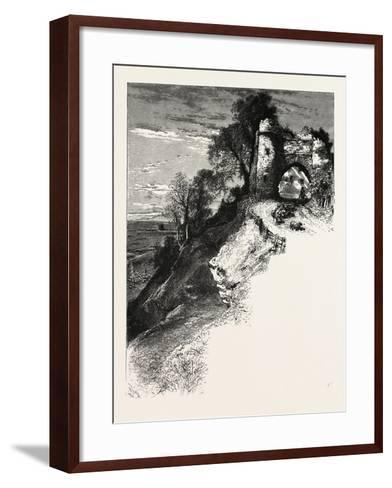 Gateway at Winchelsea, the South Coast, UK, 19th Century--Framed Art Print
