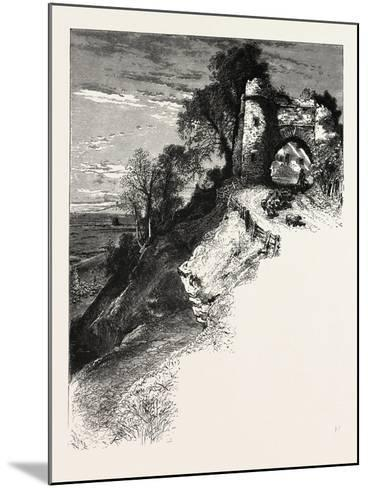 Gateway at Winchelsea, the South Coast, UK, 19th Century--Mounted Giclee Print